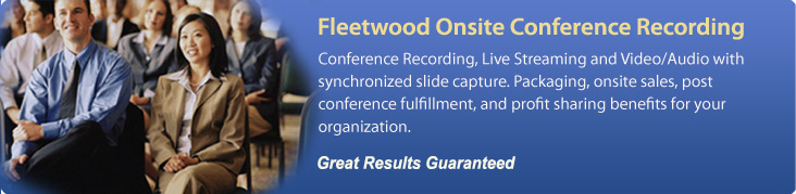 Fleetwood Onsite Conference Recording - Home