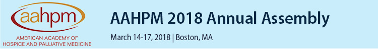 2018 AAHPM Annual Assembly