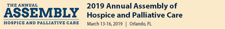 2019 Annual Assembly of Hospice and Palliative Care