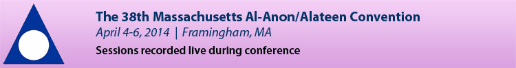2014 Massachusetts Al-Anon/Alateen Convention