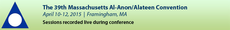 2015 Massachusetts Al-Anon/Alateen Convention