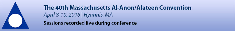 2016 Massachusetts Al-Anon/Alateen Convention