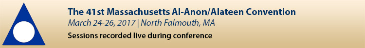 2017 Massachusetts Al-Anon/Alateen Convention
