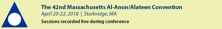 2018 Massachusetts Al-Anon/Alateen Convention