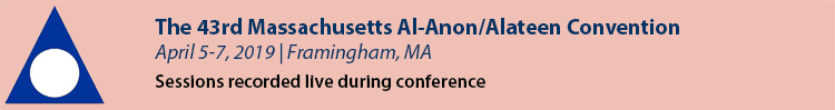 2019 Massachusetts Al-Anon/Alateen Convention
