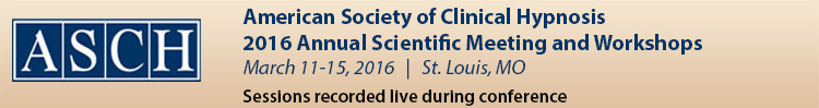 2016 ASCH Scientific Meeting and Workshops