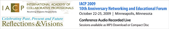 IACP 2009 Educational Forum