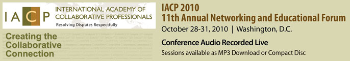 IACP 2010 Educational Forum