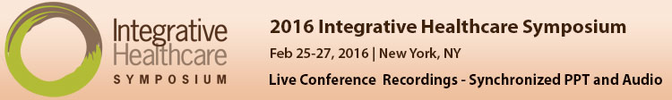 2016 Integrative Healthcare Symposium