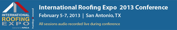 2013 International Roofing Expo