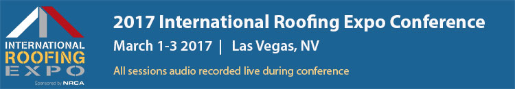 2017 International Roofing Expo