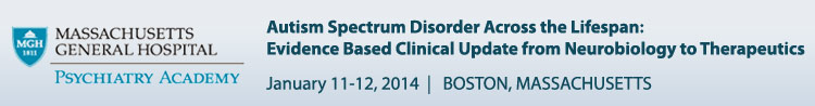 Autism Spectrum Disorder Conference - January 11-12, 2014