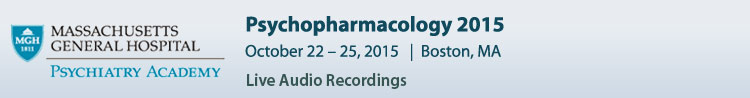 Psychopharmacology 2015 Conference - October 2015