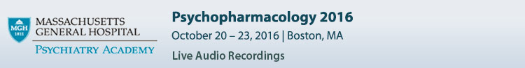 Psychopharmacology 2016 Conference - October 2016