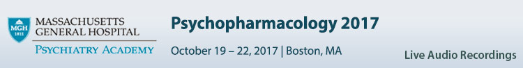 Psychopharmacology 2017 Conference - October 2017