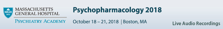 Psychopharmacology 2018 Conference - October 2018