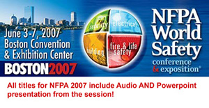 2007 NFPA World Safety Conference
