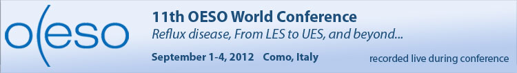 11th OESO World Conference - 2012