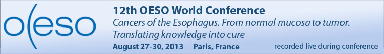 12th OESO World Conference - 2013