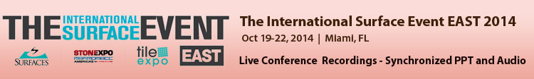 The International Surface Event EAST October 2014