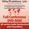 17530 - Wise Traditions 2011 Conference DVD-ROM - All sessions Audio Synchronized with PowerPoints, plus bonus MP3 files