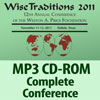17531 - Wise Traditions 2011 Conference MP3 Audio CD-ROM - MP3 audio recordings of all sessions