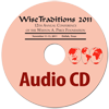 17534 - Wise Traditions 2011 Conference Set of Individual Audio CDs - Compact Discs of audio from every session