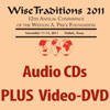 17535 - Wise Traditions 2011 Conference: Combo Pak: Full Conference Audio CDs PLUS Video-DVD Set